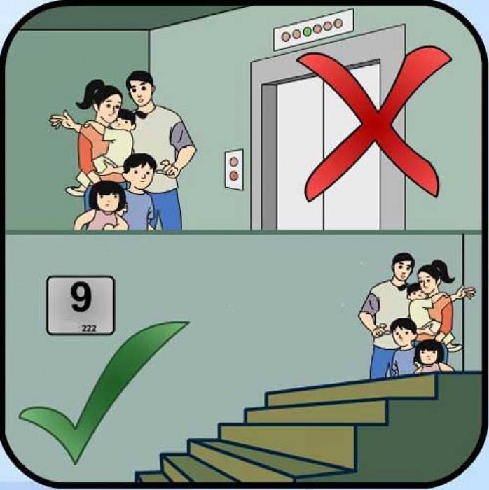 10 kỹ năng thoát hiểm
