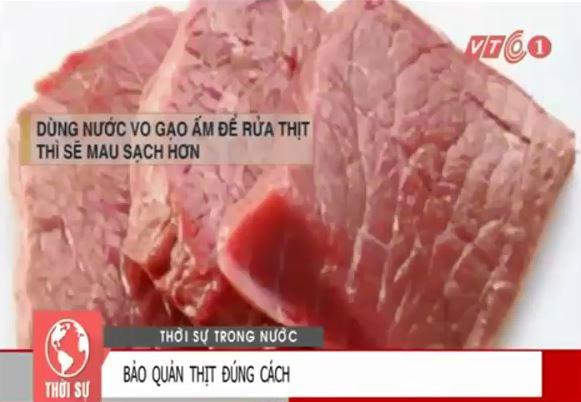 [VIDEO] Mẹo bảo quản thịt tươi ngon trong những ngày tết