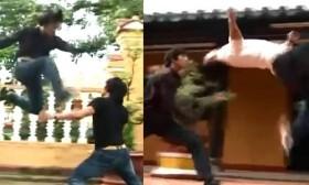 [VIDEO] Hai thanh niên Việt đánh nhau hay hơn phim võ thuật HongKong