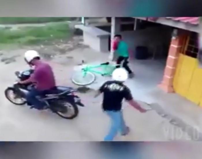 video di cuop xe dap mat xe may