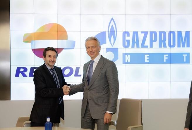 gazprom neft va repsol thanh lap lien doanh