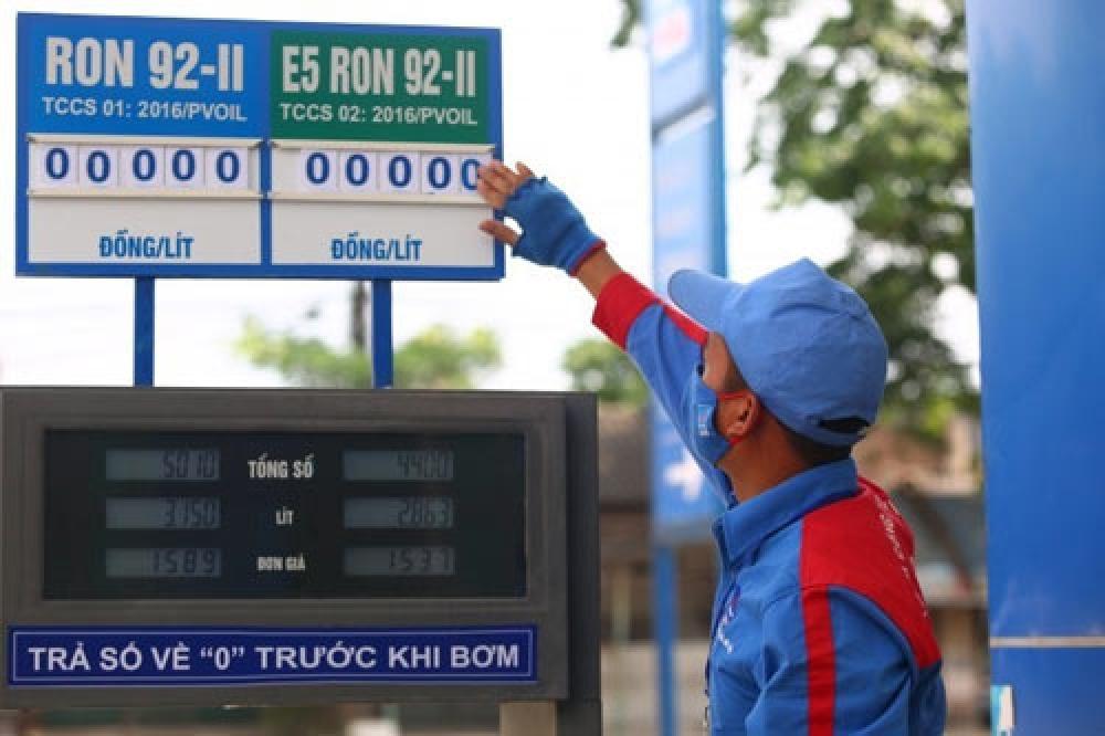 PV OIL điều chỉnh giá bán lẻ, bán buôn xăng dầu từ 16h ngày 03/02/2017