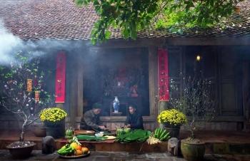 Tết ở làng cổ Đường Lâm