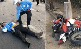 [VIDEO] Lộ clip mô tô chạy như bay cán chết người ở Đồng Nai