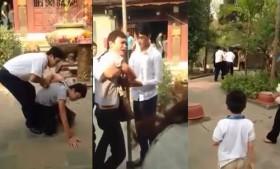 [VIDEO] Ăn mặc bóng bẩy trộm tiền cúng ở Đền Mẫu, chị em liên tục xin tha