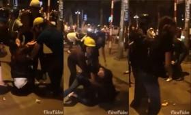 [VIDEO] Gần chục thiếu nữ hỗn chiến kinh hoàng trên phố Bà Triệu