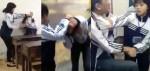 Mâu thuẫn trên facebook, nữ sinh lớp 10 đánh bạn trai trong lớp học