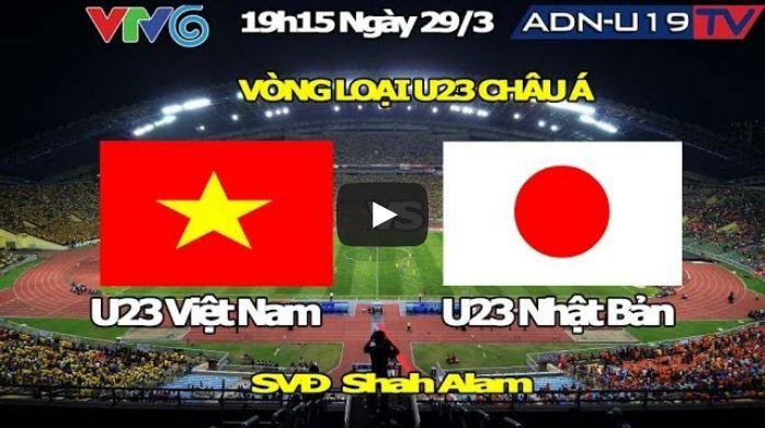 Link xem trực tiếp trận đấu: U23 Việt Nam – U23 Nhật Bản