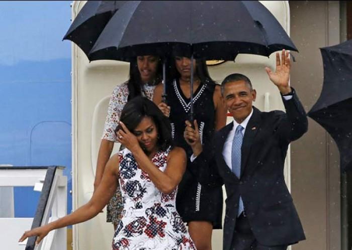 Cái ô của người Việt và cái ô của Tổng thống Obama