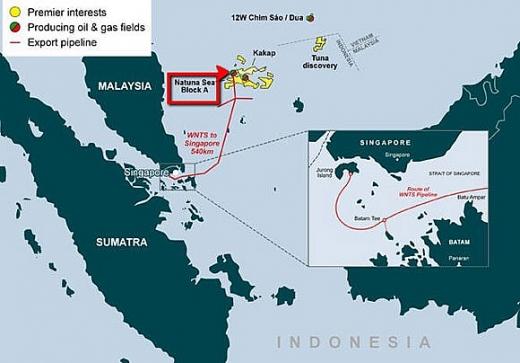 premier oil trao hop dong dich vu dau khi ngoai khoi indonesia