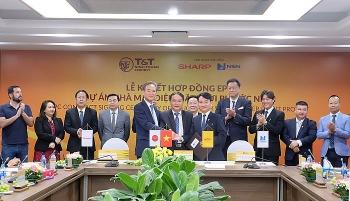 Lễ ký kết hợp đồng EPC dự án nhà máy điện mặt trời Phước Ninh