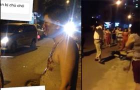 [VIDEO] Phẫn nộ Pitbull cắn chết chó 4 tháng tuổi, chủ còn hành hung người ở Hà Nội
