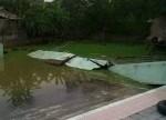 Vĩnh Phúc: Sập tường bể bơi, một học sinh tử vong