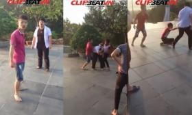 [VIDEO] Hai thanh niên manh động đánh hội đồng và cái kết