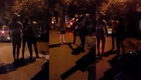 [VIDEO] Thanh niên ăn đòn vì lên gối bạn gái ở Hà Nội