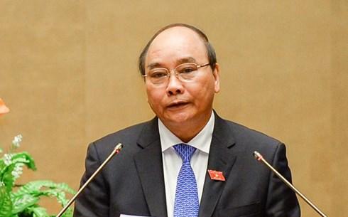 Ông Nguyễn Xuân Phúc được giới thiệu để bầu làm Thủ tướng