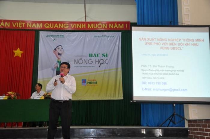 chuong trinh bac sy nong hoc thiet thuc cho nha nong