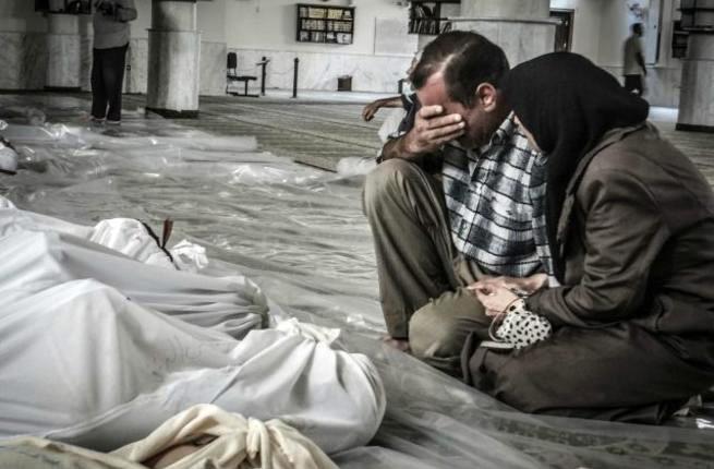 Ai sử dụng vũ khí hóa học ở Syria?