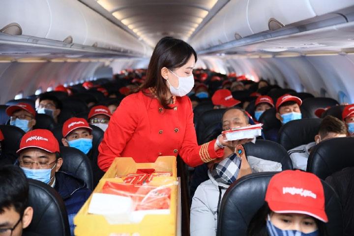 Phú Quốc không ngủ đón khách bay Vietjet từ muôn nơi