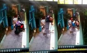 [VIDEO] Vào nhà trộm xe bị cả xóm quây đánh