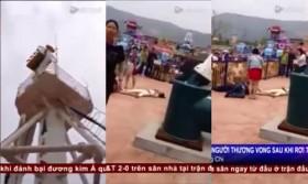 [VIDEO] Không kịp thắt dây an toàn, nhiều người chết thảm vì rơi từ đu quay