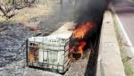 Ấn Độ: Xe buýt bốc cháy, ít nhất 21 người tử vong