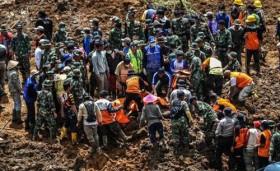 Indonesia: Sạt lở đất, 22 người thương vong