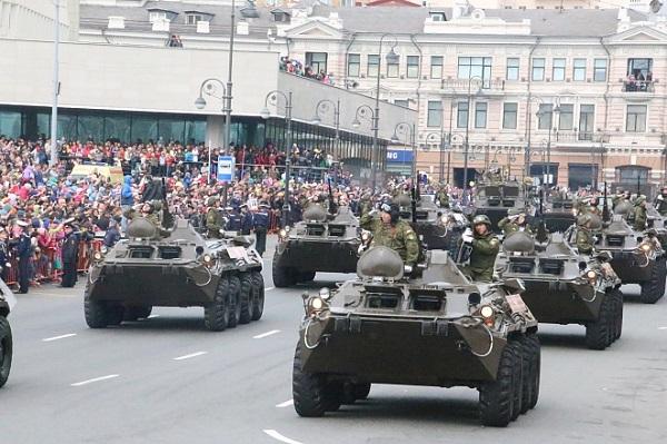 [Chùm ảnh] Những khoảnh khắc ấn tượng trong Lễ duyệt binh kỷ niệm Ngày Chiến thắng ở Quảng trường Đỏ