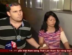 [VIDEO] Nữ du khách Việt bị nhóm cướp tấn công bằng dao ở Brazil