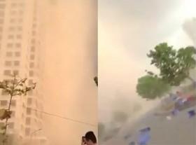 [VIDEO] Xuất hiện bão cát