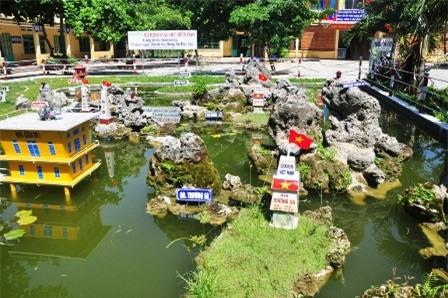 [VIDEO] Sáng tạo mô hình biển đảo Việt Nam ngay trong khuôn viên nhà trường