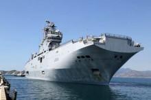 Tàu Hải quân Pháp, Nga cập cảng Cam Ranh