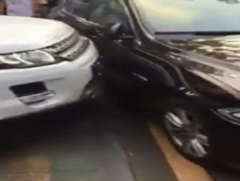 video range rover dam nat sieu xe jaguar