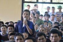 3 giờ đối thoại của Chủ tịch Nguyễn Đức Chung với dân chặn xe chở rác