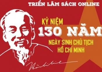 Triển lãm sách online kỷ niệm 130 năm Ngày sinh Chủ tịch Hồ Chí Minh