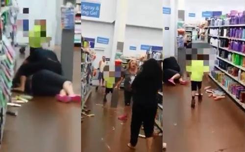 [VIDEO] Hai phụ nữ lao vào hỗn chiến 'lật tung' siêu thị