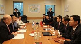 Trưởng Ban Kinh tế T.Ư làm việc với Bộ trưởng Kinh tế Israel