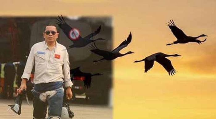 Người lính phi công không về sẽ 'hoá sếu trắng bay cao'