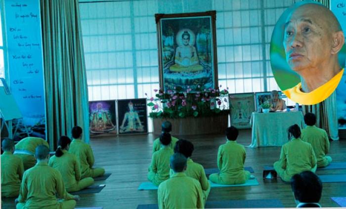 dot pha buddha yoga cua thuong toa thich hue dang