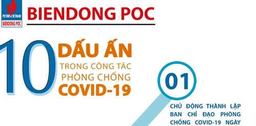 BIENDONG POC nhận bằng khen của Đảng ủy Khối DNTW vì có thành tích xuất sắc trong công tác phòng, chống dịch COVID-19