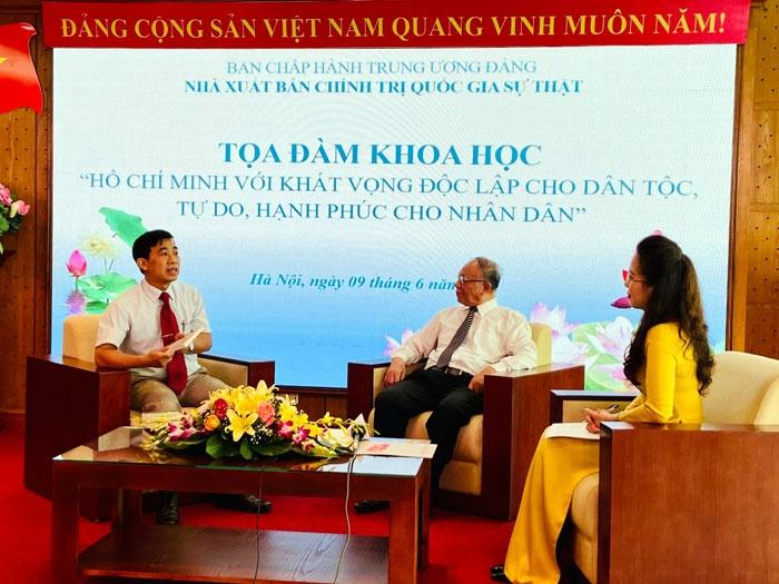"""""""Hồ Chí Minh với khát vọng độc lập cho dân tộc, tự do, hạnh phúc cho nhân dân"""""""