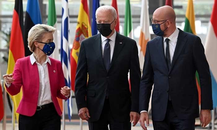Tuyên bố chung Mỹ-EU: Phản đối mọi âm mưu thay đổi hiện trạng ở Biển Đông, sẵn sàng trả miếng Nga