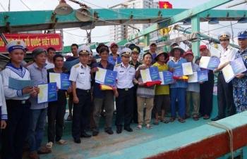Lính biển - trách nhiệm và tự hào