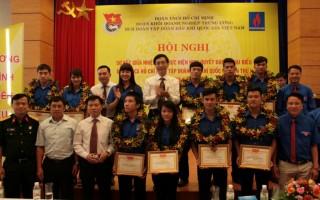 Khen thưởng nhiều sinh viên dầu khí tiên tiến