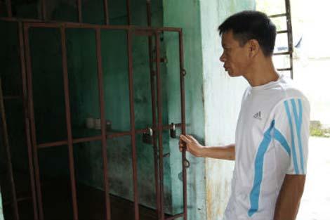 Tự xây phòng 'biệt giam' để rời xa ma túy