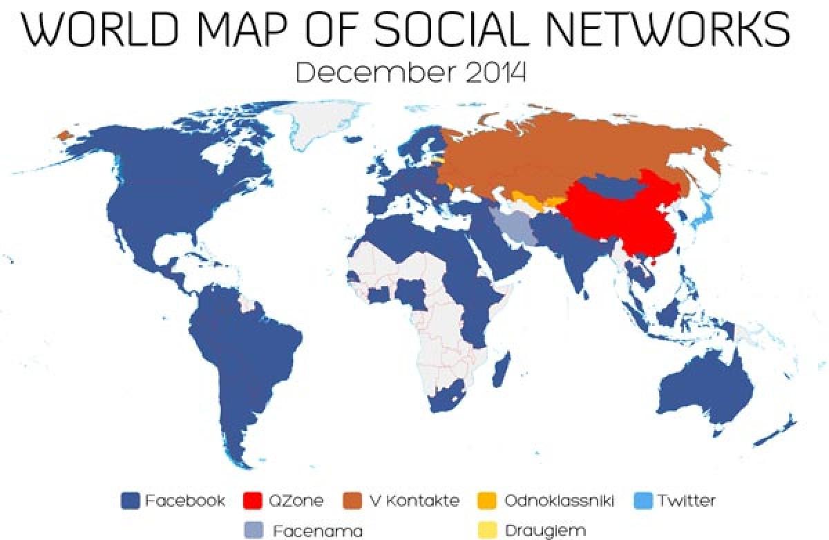 """Mạng xã hội của Việt Nam thua ngay trên """"sân nhà"""""""