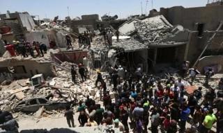 Máy bay chiến đấu Iraq để rơi bom, 12 người dân chết thảm