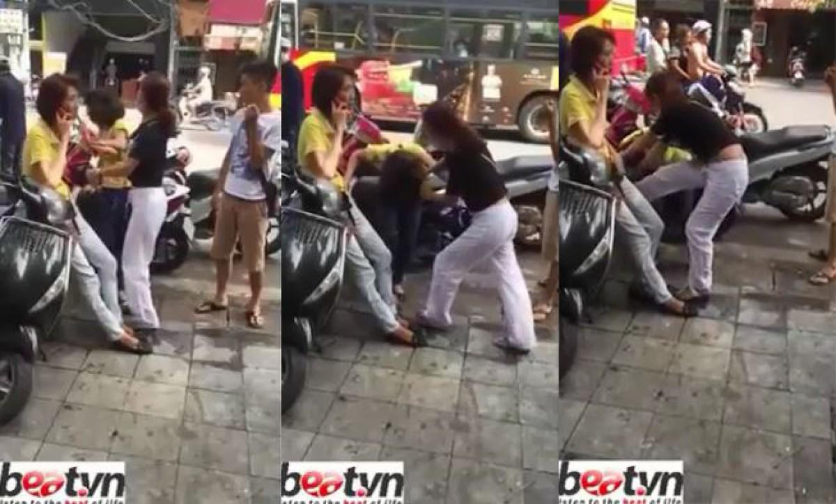[VIDEO] Trộm tiền và iPhone 6, cô gái bị ăn đòn tơi tả