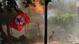 Thổ Nhĩ Kỳ: Đánh bom tự sát, hơn 100 người thương vong