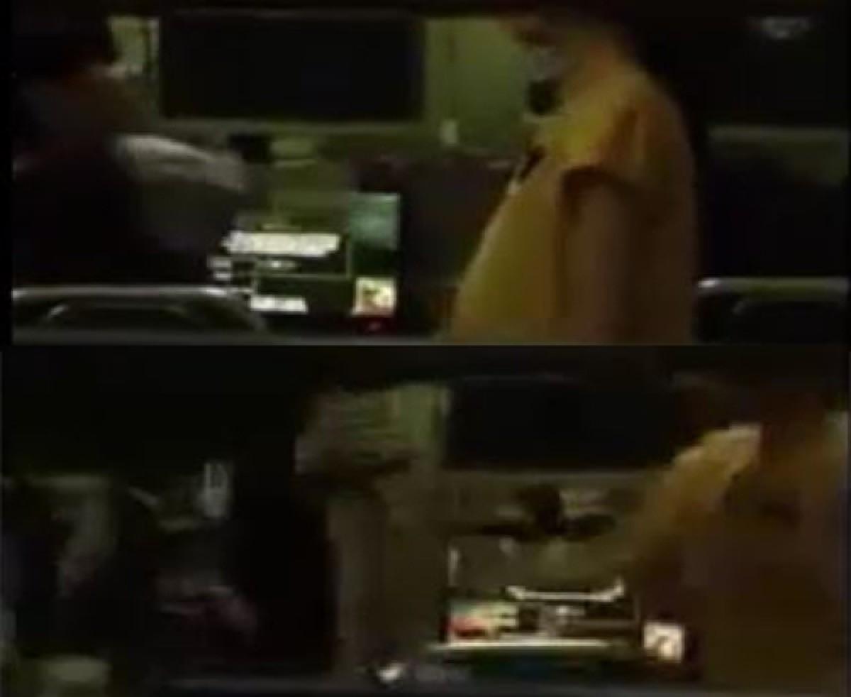 [VIDEO] Phẫn nộ thanh niên nghiện game tát vợ như trời giáng ở quán Net